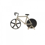 Cortador de Pizza Bike Branco - 18x12 cm