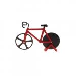 Cortador de Pizza Bike Vermelho - 18x12 cm