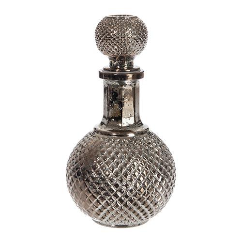 Decanter para Vinho Ball Bronze Médio em Vidro - 22x10 cm