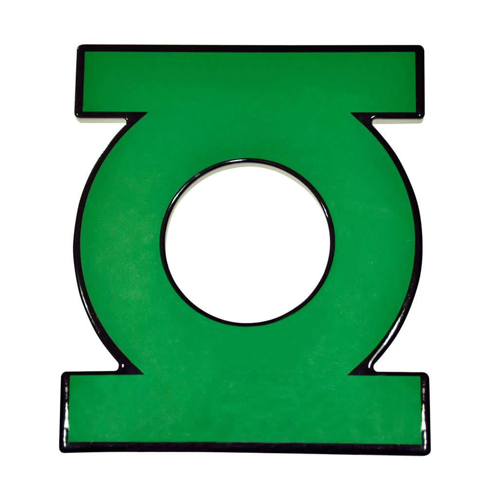 Descanso para Panela DC Comics Lanterna Verde em Cerâmica - Urban - 20x17 cm