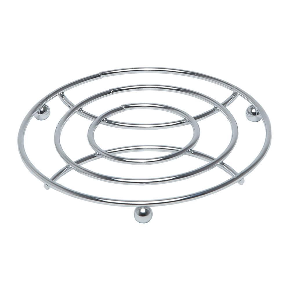Descanso de Panela Trivet em Aço Inox - Bon Gourmet - 18 cm