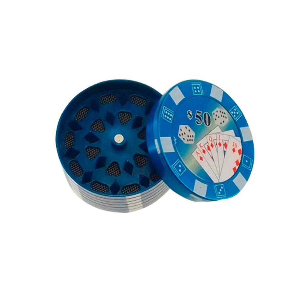 Dichavador Azul em Metal - 5x3 cm