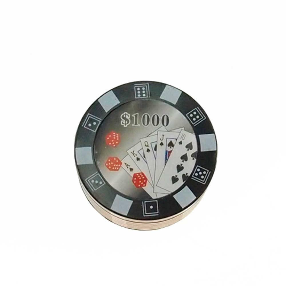 Dichavador Preto em Metal - 5x3 cm