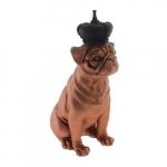 Dog coroa corpo rosè