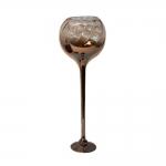 Donzela Taça Degradê Grande em Vidro - 59x20 cm