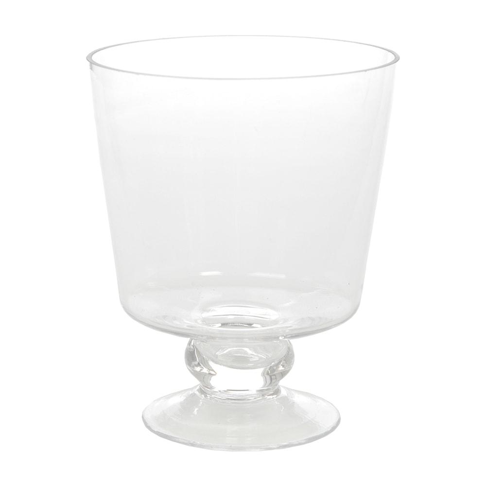 Donzela Transparente Tezza em Vidro - 15x12 cm