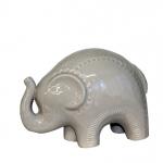 Elefante Cerâmica Camurça P