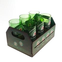 Engradado Heinekein tampinhas R$ 199,95 R$ 139,95 2x de R$ 69,98 sem juros