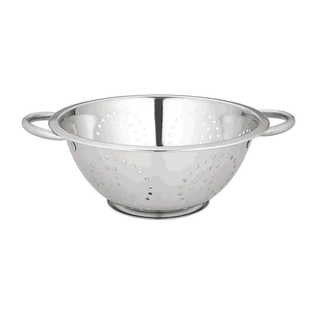 Escorredor de Massas em Aço Inox - Bon Gourmet - 24 cm