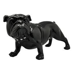 Escultura Bulldog Alert Pequeno Preto em Resina - Urban R$ 549,90 R$ 389,90 7x de R$ 55,70 sem juros