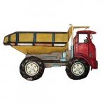 Escultura caminhão
