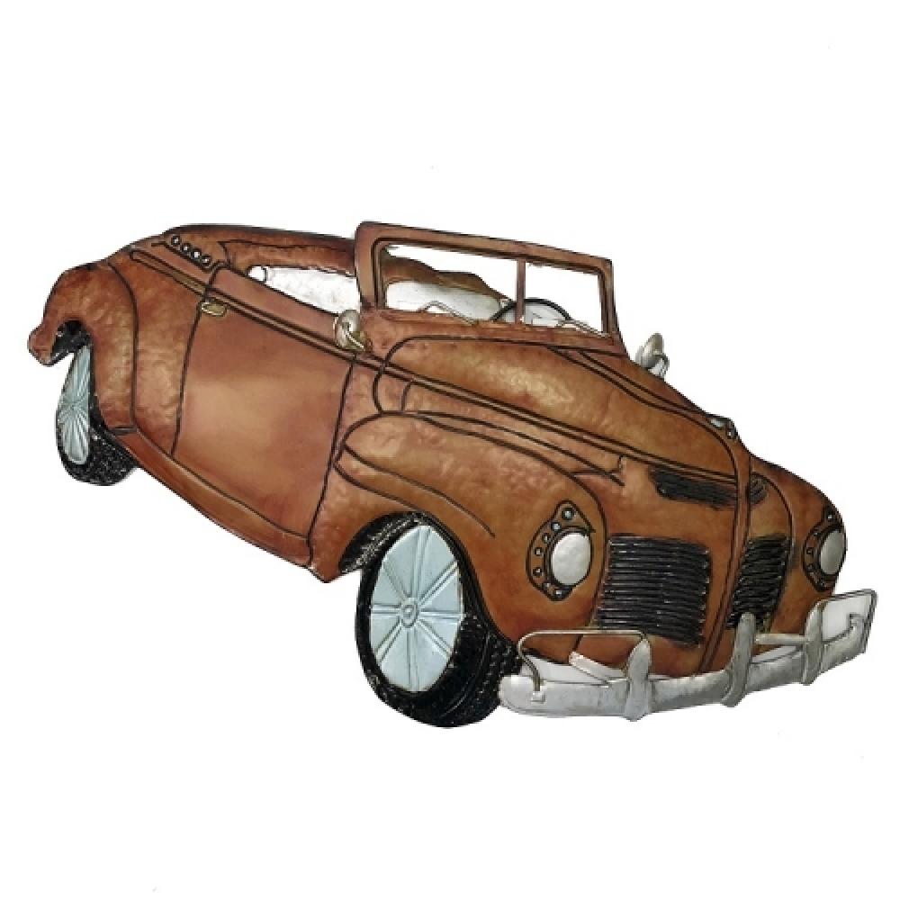 Escultura carro conversível