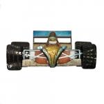Escultura carro de F1