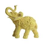 Escultura Elefante Abracadabra Grande em Resina - 25x24 cm