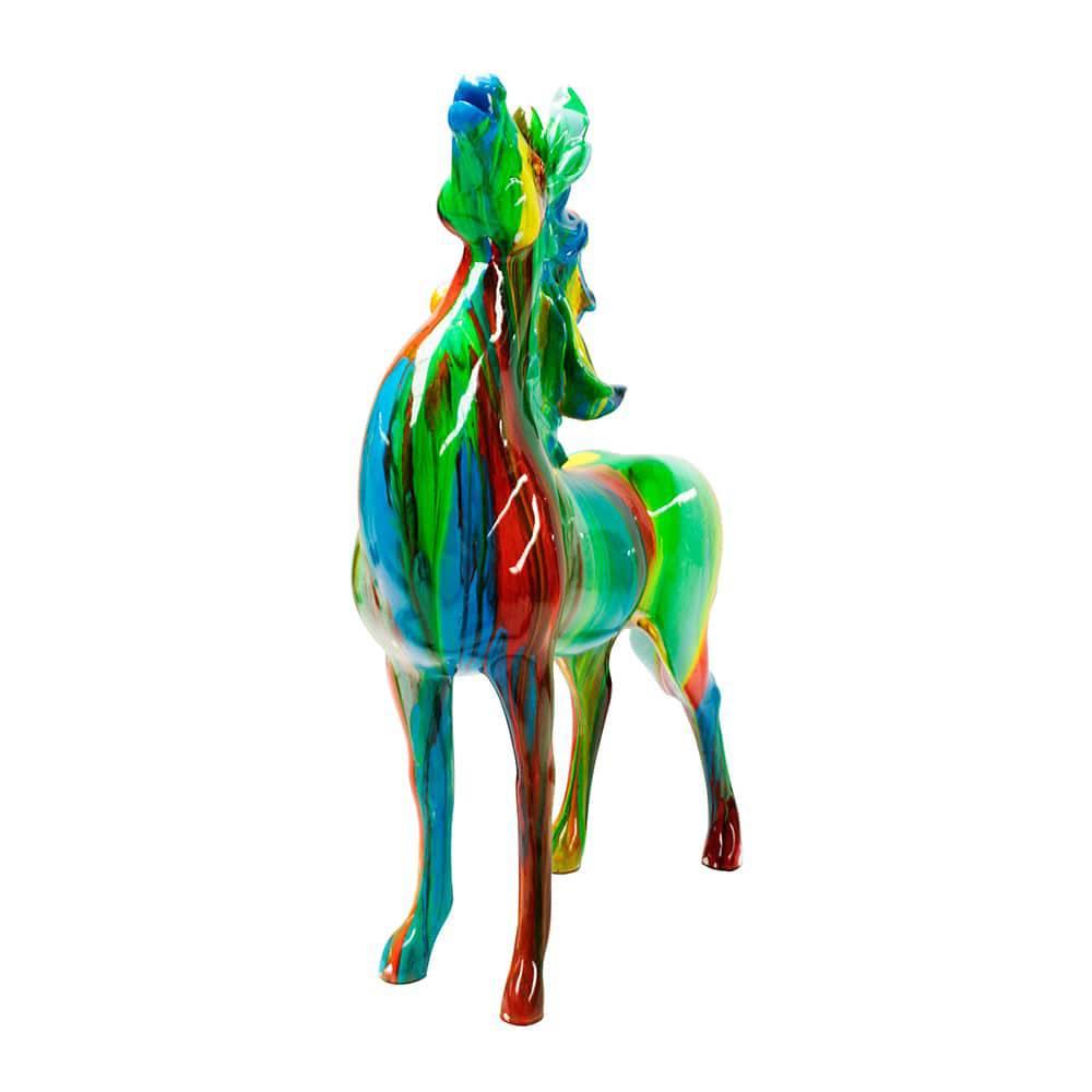 Escultura Horse Colors Fullway - 57x27 cm