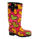 Escultura Shoes Rainboot - Romero Britto - em Resina - 18x13 cm