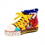 Escultura Shoes Sneaker - Romero Britto - em Resina