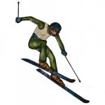 Escultura ski