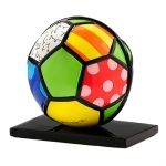 Escultura Soccer Sport - Romero Britto - em Resina - 14x12 cm
