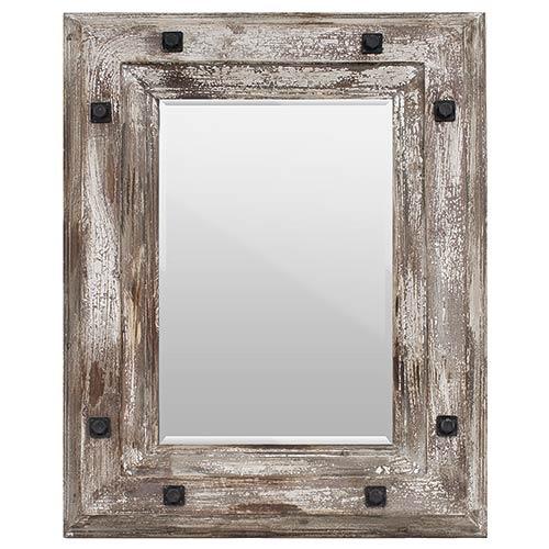 Espelho Antigo Brown Oldway - 92x72 cm