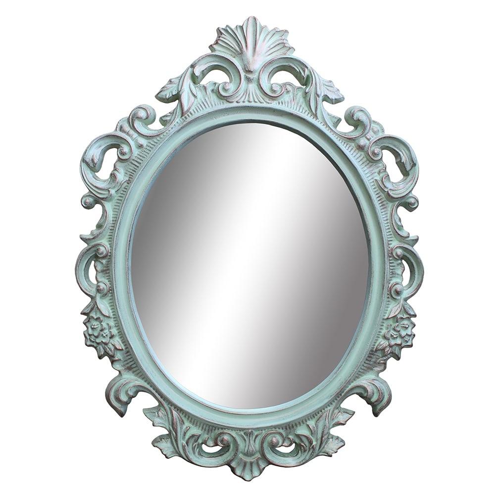 Espelho Cannes Cinza em Polipropileno - 94x69 cm