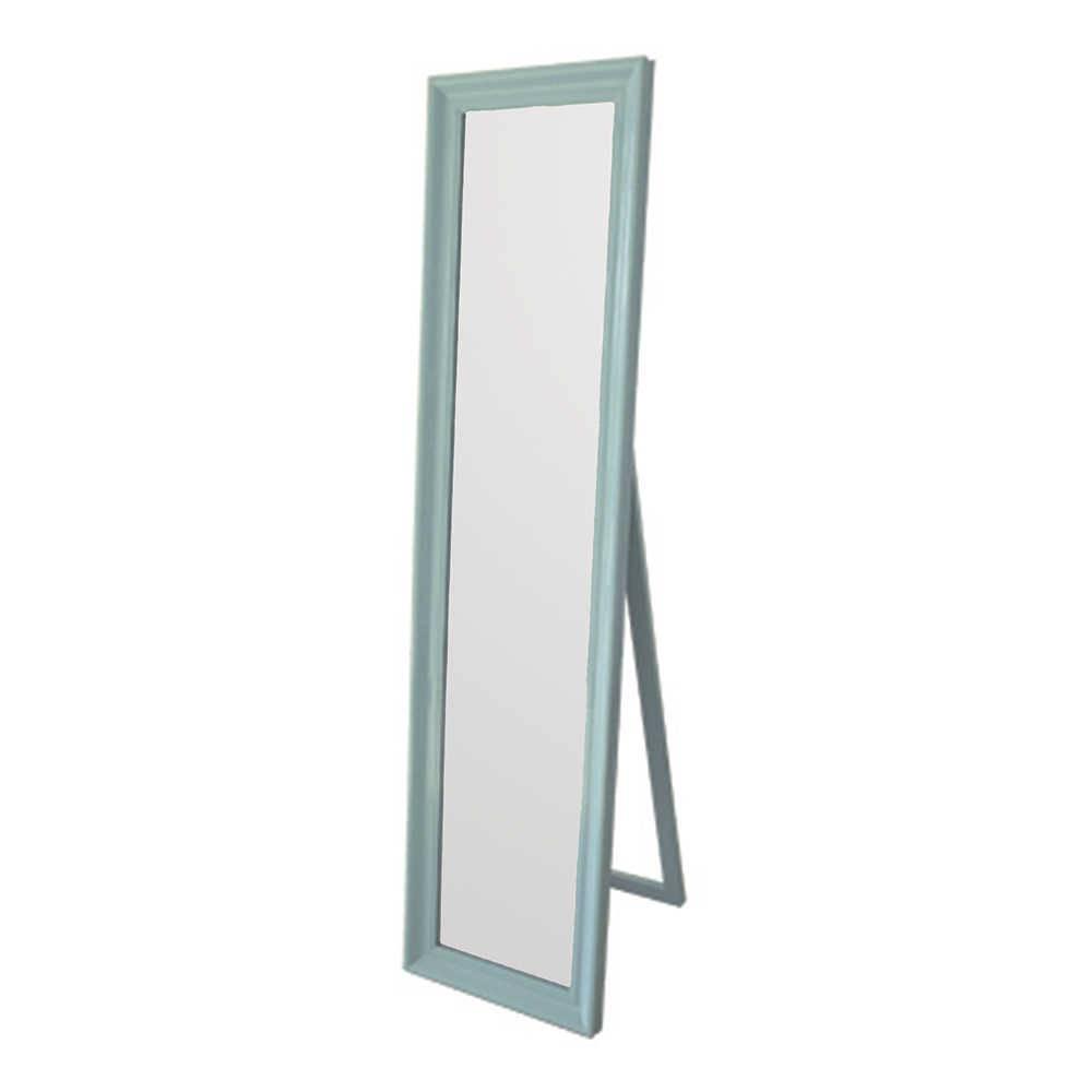 Espelho de Chão Classic Frame Azul em MDF - Urban - 160x40 cm