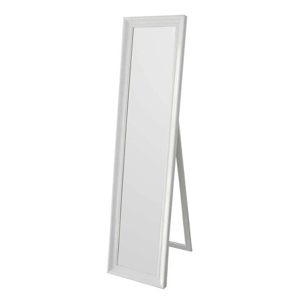 Espelho de Chão Classic Frame Branco em MDF - Urban - 160x40 cm