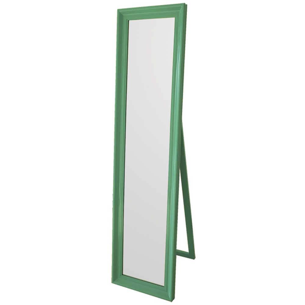 Espelho de Chão Classic Frame Green em MDF - Urban - 160x40 cm