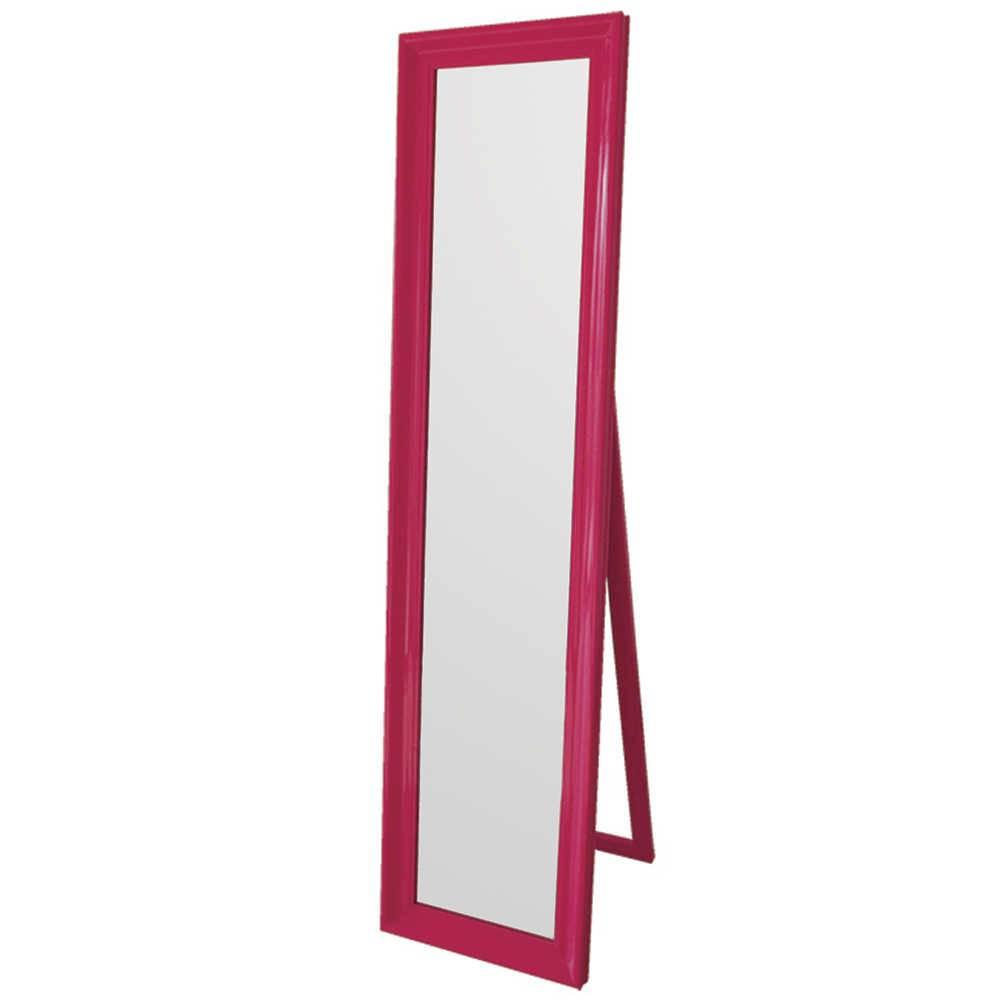 Espelho de Chão Classic Frame Pink em MDF - Urban - 160x40 cm