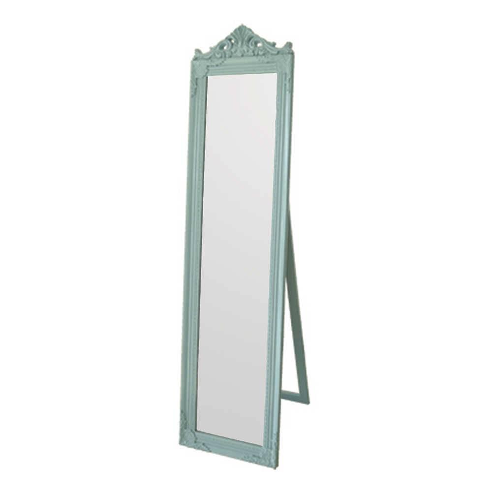 Espelho de Chão Majesty Frame Azul em MDF - Urban - 160x40 cm