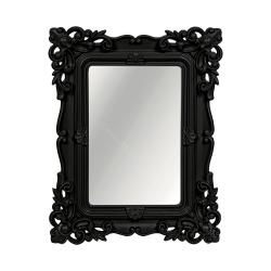 27% Espelho Classic Arabescos Preto Retangular - 32x26 cm R$ 82,80 R$ 60,80 1x de R$ 54,72 sem juros