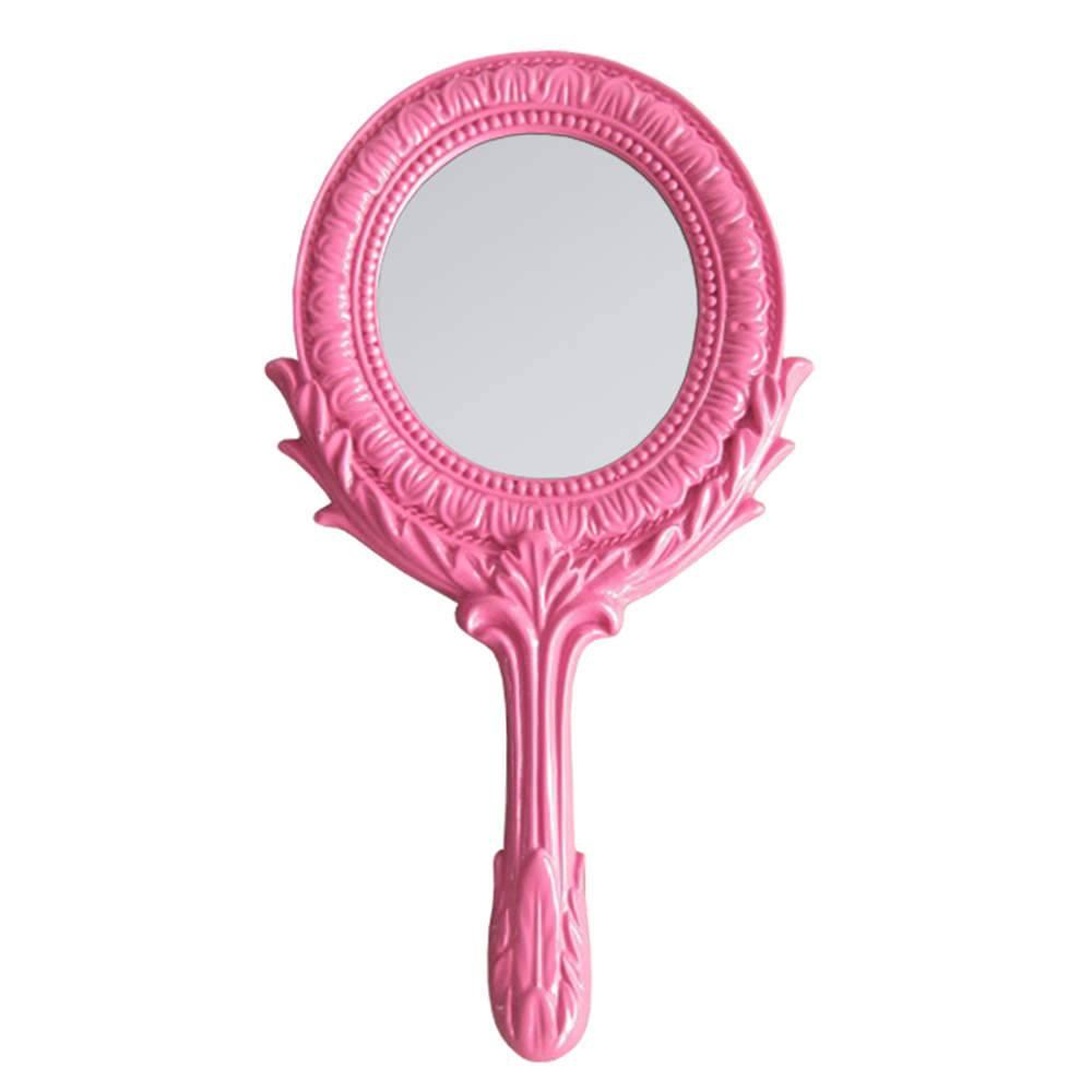 Espelho Combers Grego Pink em Resina - Urban - 25,5x12,5 cm