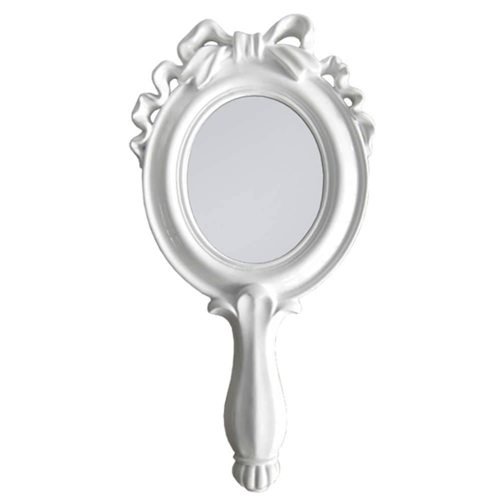 Espelho Combers Laço Pequeno Branco em Resina - Urban - 25x12,5 cm
