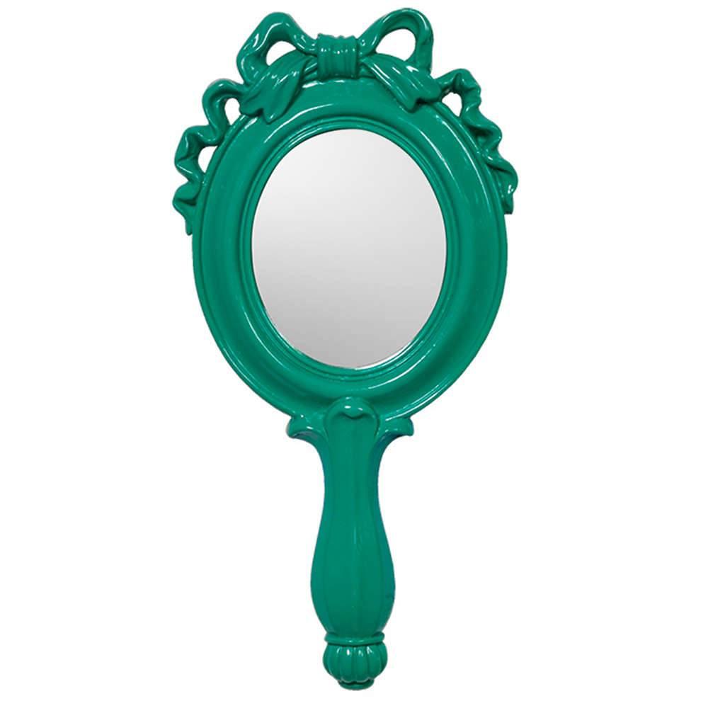 Espelho Combers Laço Pequeno Verde em Resina - Urban - 25x12,5 cm