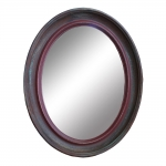 Espelho Cremona Bordô em Madeira - 49x39 cm