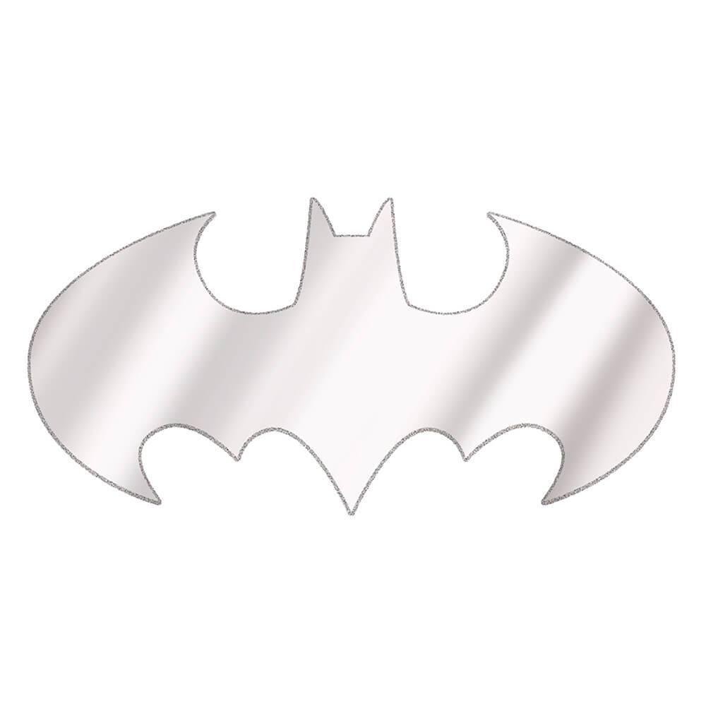 Espelho DC Comics Batman Logo Recortado - Urban - 120x57,4 cm