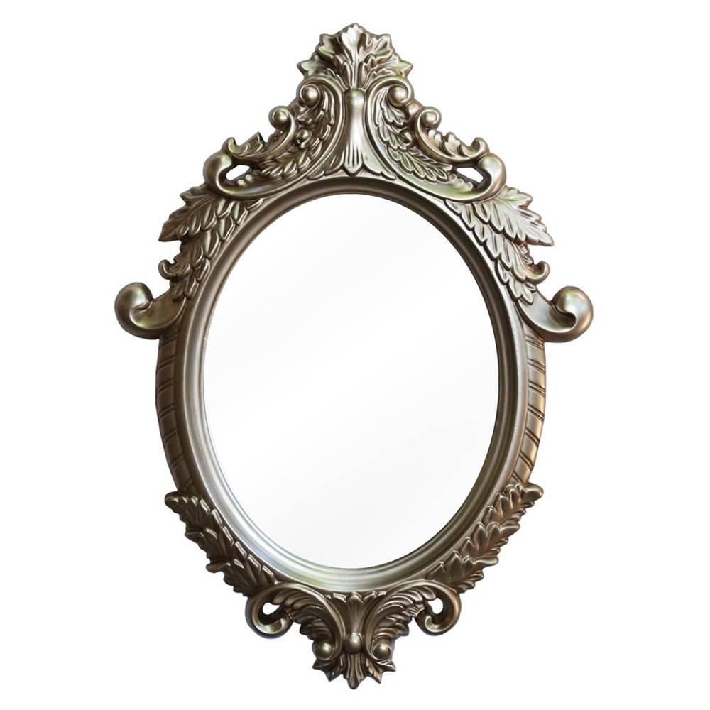Espelho Dijon Dourado com Moldura em Resina - 87x62 cm