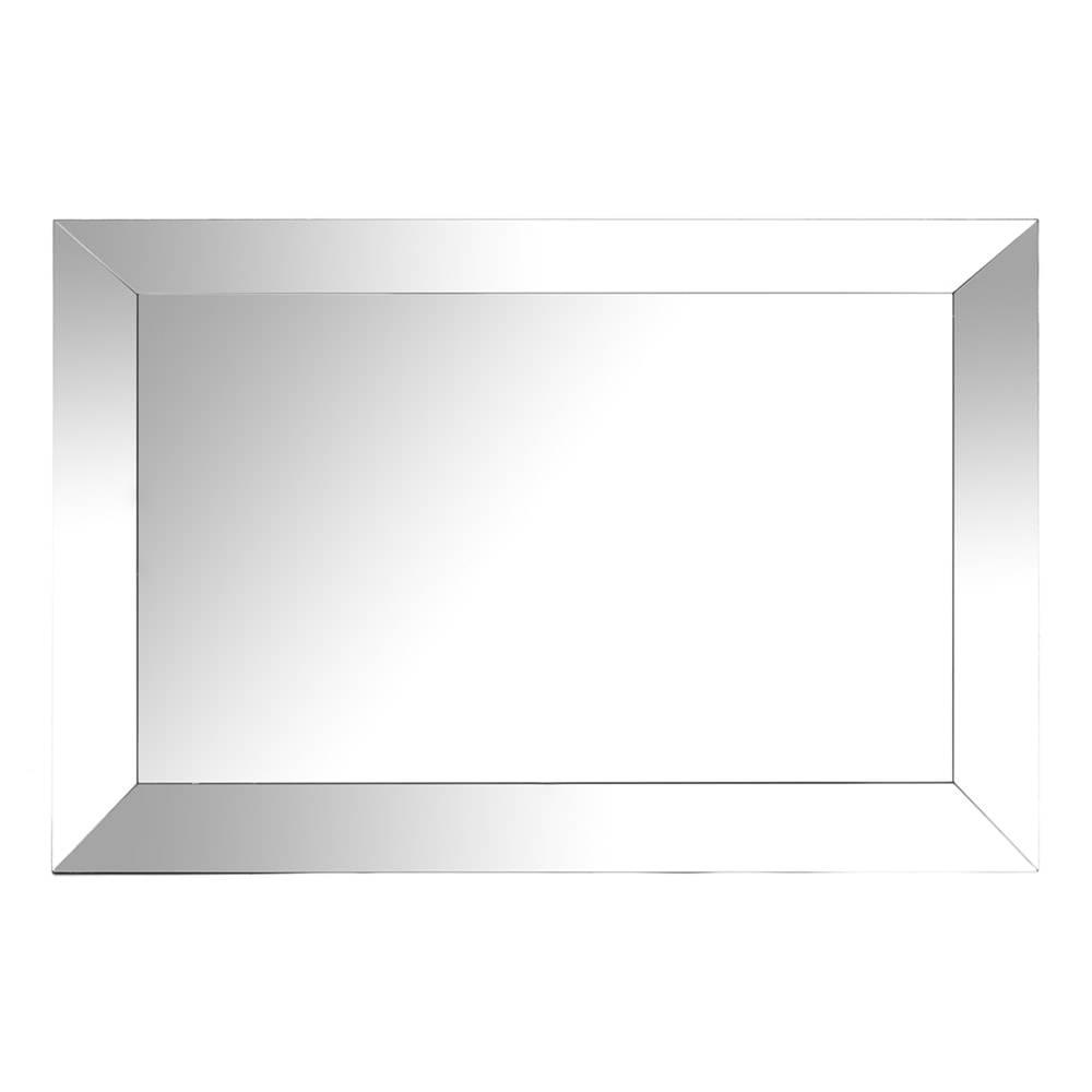 Espelho Luna Retangular em Vidro - 90x60 cm