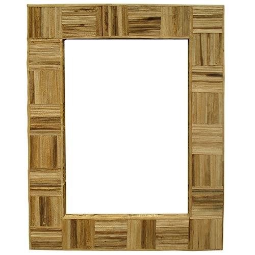 Espelho de Palha de Bananeira Greenway - 90x70 cm