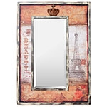 Espelho Paris Eiffel Beauty / Crown Oldway