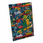 Espelho com Porta DC Comics Super Heroes Colorido em Madeira - Urban - 52x37 cm