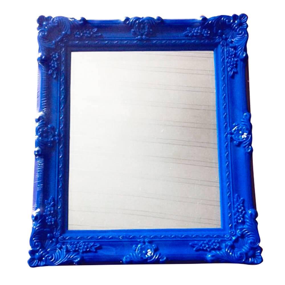 Espelho Retangular Indigo My Castle Azul - Urban - 37x31 cm