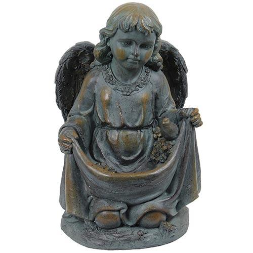 Estatua Anjo de Joelhos Greenway - 51x32 cm