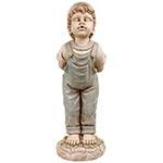 Estátua Beijo Menino Greenway - 93x33x34cm