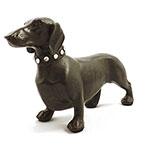 Estátua de Cachorro Linguiça