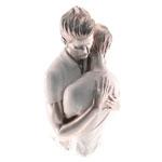 Estatueta Casal de Homens em Resina