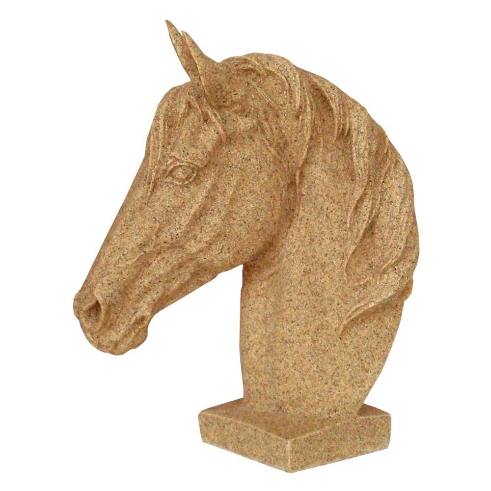 Estatueta Cavalo Persa em Resina - 30x23 cm