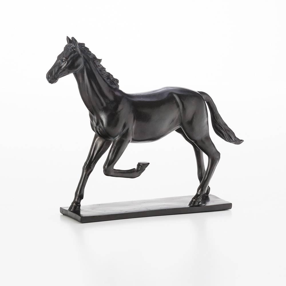 Estatueta Cavalo em Resina - Lyor Classic - 30,5 cm