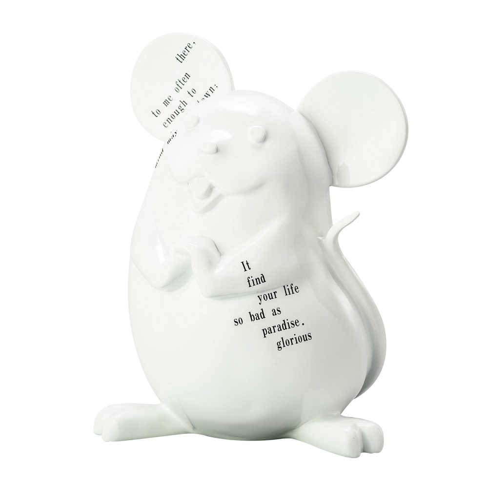 Estatueta Creative Mouse em Resina - Grande - Lyor Design - 31 cm