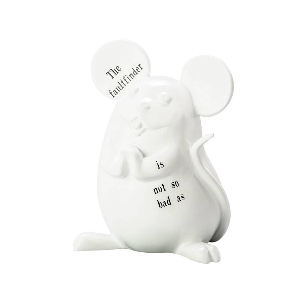 Estatueta Creative Mouse em Resina - Lyor Design - 19 cm